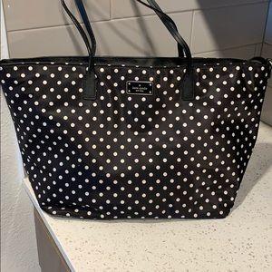 Polka Dot Kate Spade Diaper (Baby)/Tote Bag!